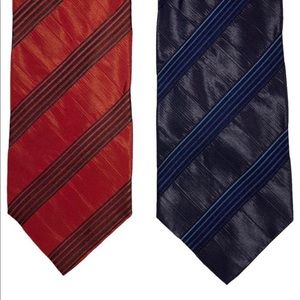 Lot of 2 Ermenegildo Zegna Ties